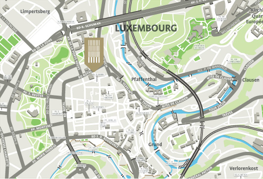 In the heart of the city of Luxembourg Royal Grace